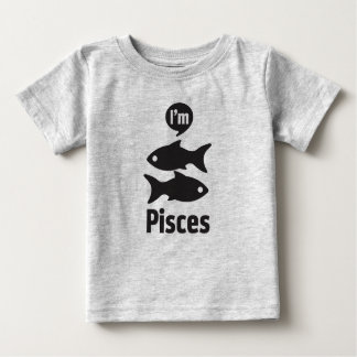 Zodiac Baby Tees-Pisces Baby T-Shirt