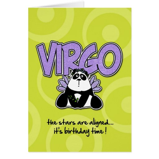 Zodiac Birthday - Virgo