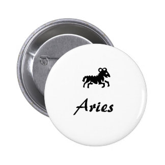 Zodiac button series: Aries