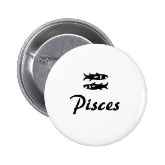 Zodiac button series Pisces