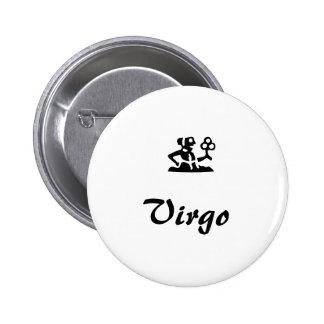 Zodiac button series Virgo
