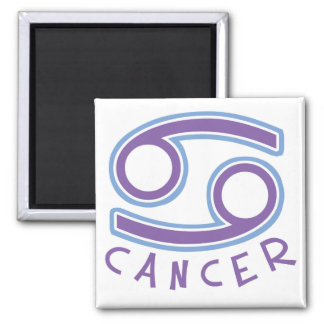 Zodiac Cancer Square Magnet Refrigerator Magnets