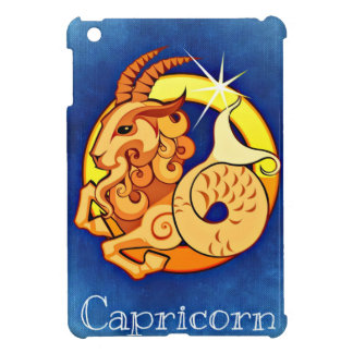 Zodiac Capricorn sign iPad Mini Covers