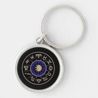 Zodiac Circle Key Ring