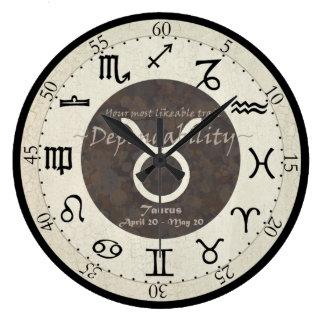 Zodiac Clock - Taurus