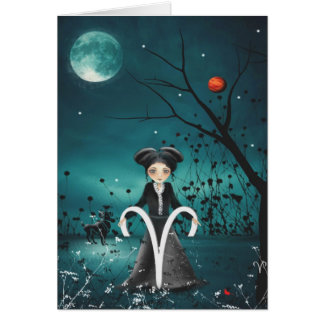Zodiac Girls Greeting Card - Aries