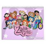 Zodiac Girlz 2009 Calendar
