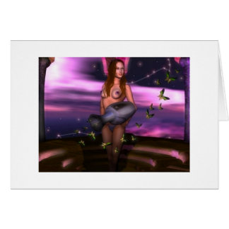 Zodiac Happy Birthday ~ Aquarius Greeting Card
