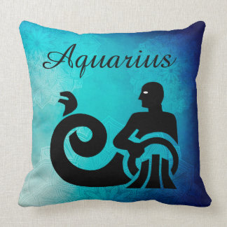 Zodiac Horoscope Astrology Sign Aquarius Pillow
