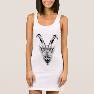 Zodiac Jersey tank dress for women