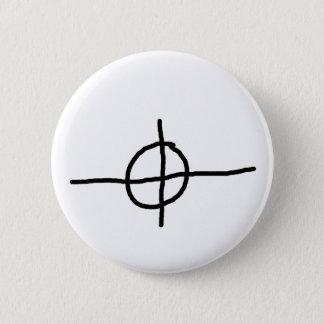 Zodiac Killer Crosshair 6 Cm Round Badge