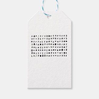 Zodiac killer gift tags