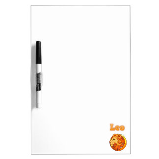 Zodiac Leo illustration Dry Erase Board
