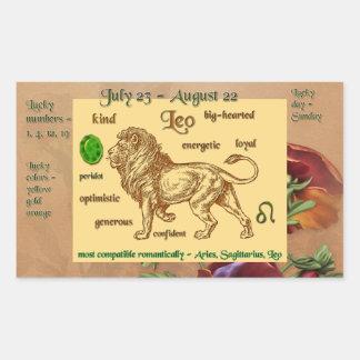 Zodiac Leo Sticker