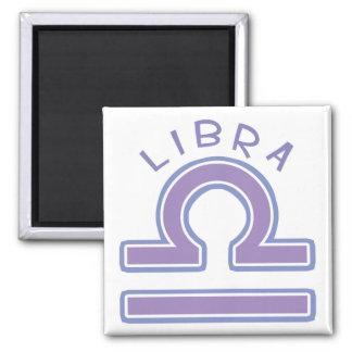 Zodiac Libra Square Magnet Refrigerator Magnet