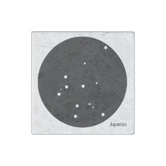 Zodiac Magnet (Aquarius) Stone Magnet