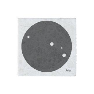 Zodiac Magnet (Aries) Stone Magnet