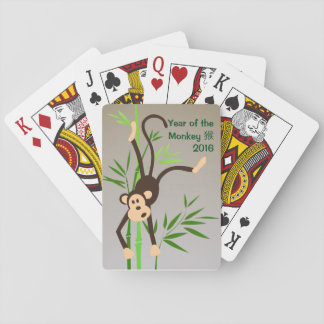 Zodiac Monkey playing cards