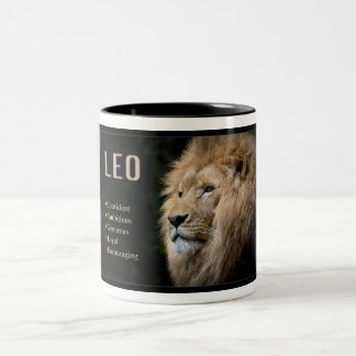Zodiac Mug - LEO the Lion