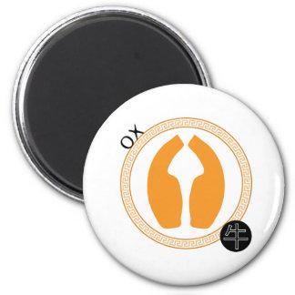 Zodiac Ox Magnet