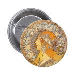 Zodiac Pinback Button