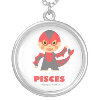 Zodiac Pisces for Girls Necklace