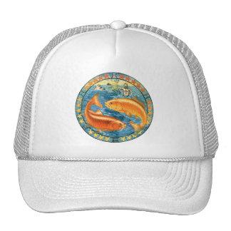 Zodiac Pisces Trucker Hats