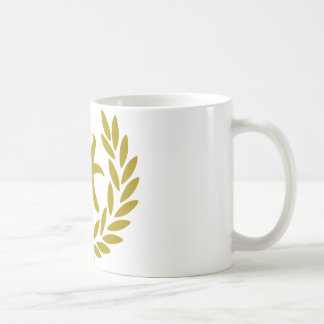 zodiac-pisces-laurel coffee mug
