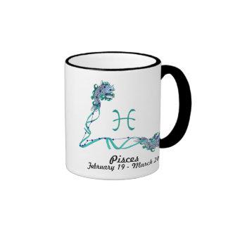 Zodiac-Pisces Coffee Mugs