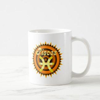 Zodiac Pisces Coffee Mugs