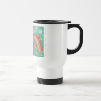 Zodiac Pisces travel/commuter mug