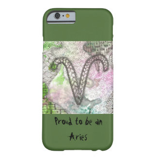 Zodiac: Proud to be an Aries Barely There iPhone 6 Case