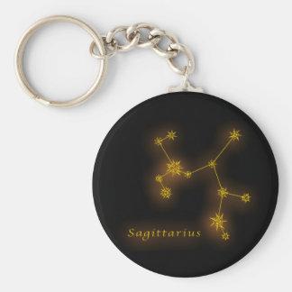 Zodiac - Sagittarius Key Ring