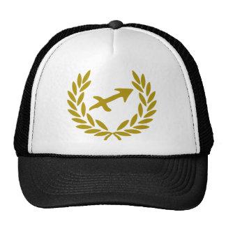 zodiac-sagittarius-laurel trucker hat