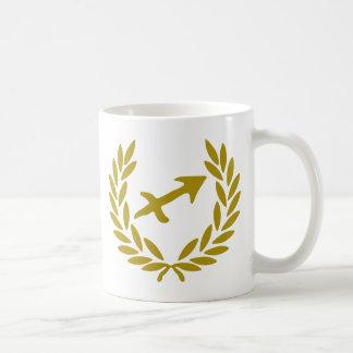 zodiac-sagittarius-laurel mug