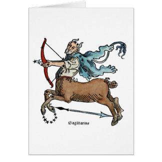 ZODIAC: SAGITTARIUS NOTE CARD