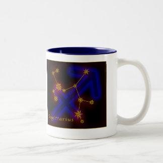 Zodiac - Sagittarius Two-Tone Mug