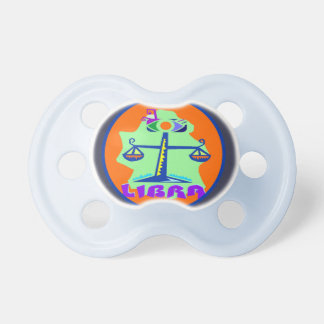 Zodiac Scale Sign Libra Horoscope Baby Pacifier