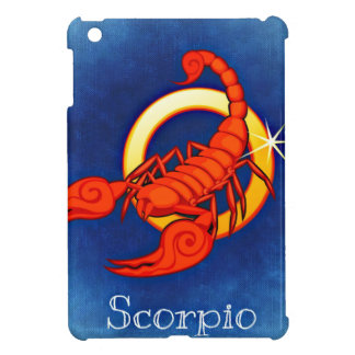 Zodiac Scorpio Cover For The iPad Mini