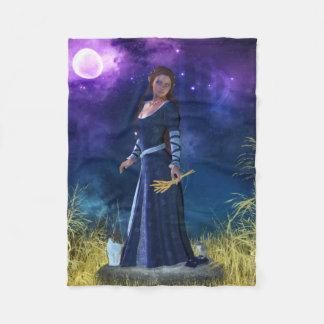 Zodiac Series: Virgo Fleece Blanket