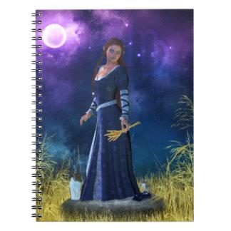 Zodiac Series: Virgo Notebook