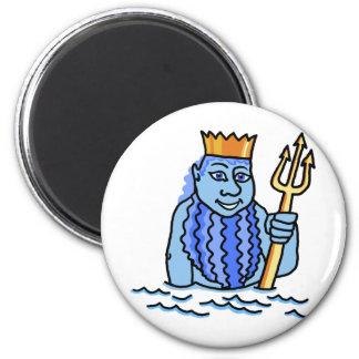 Zodiac sign Aquarius 6 Cm Round Magnet