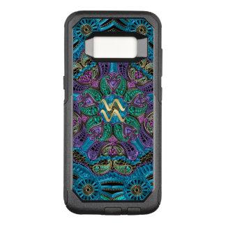 Zodiac Sign Aquarius Mandala OtterBox Commuter Samsung Galaxy S8 Case