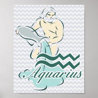 Zodiac Sign Aquarius Symbol