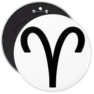 Zodiac sign Aries Pinback Button