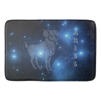 Zodiac sign Aries Bath Mats