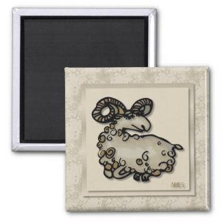 Zodiac Sign Aries Magnet