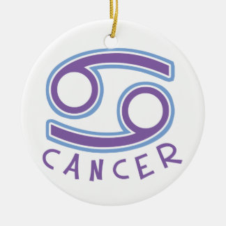 Zodiac Sign Cancer Ornament