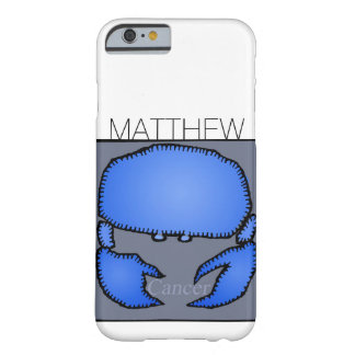 Zodiac Sign Cancer personalized Birthday case