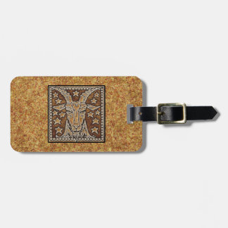 ZODIAC SIGN CAPRICORN LUGGAGE TAG